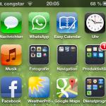 Congstar Nano-SIM stellt Betreiberlogo auf iPhone endlich korrekt dar