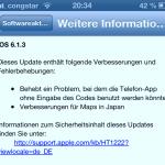 iOS 6.1.3 für alle aktuellen iOS-Geräte