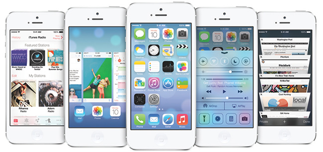 iOS 7 comes in autumn with a completely new design