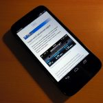 Android 4.4.2 uses Google Chrome as default browser