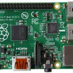 Raspberry Pi B+ with four USB ports