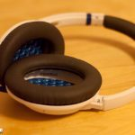 BOSE SoundTrue ear pads for a comfortable fit