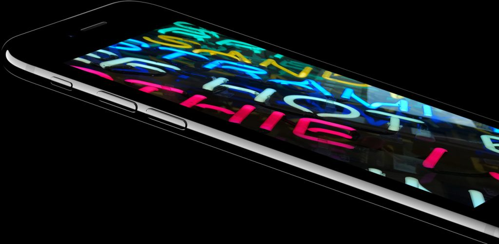 iPhone 7 with better display