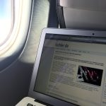 WLAN on a Norwegian flight