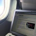 WLAN auf einem Norwegian-Flug