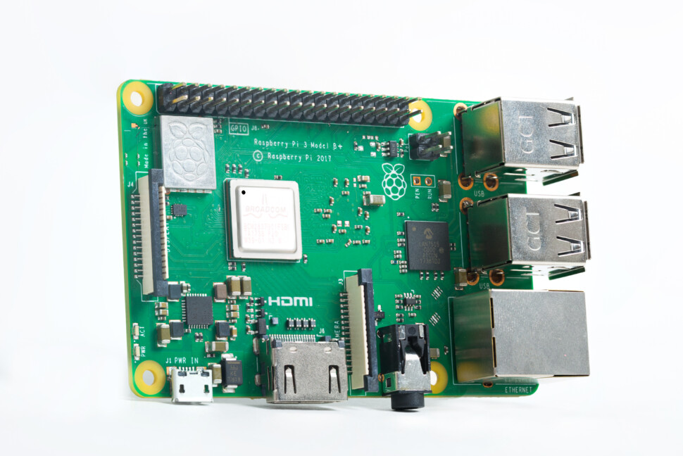 RASPBERRY PI 3 MODEL B+ (Picture: Raspberry Foundation)
